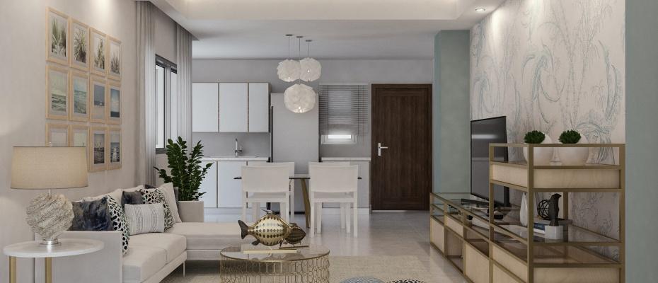 Juan Dolio Juan Dolio,1 Bedroom Bedrooms,1.5 BathroomsBathrooms,Apartamento,1001